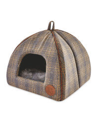 Igloo Tweed Cat Bed