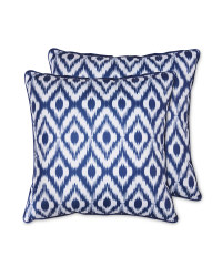 Ikat Outdoor Cushion 2 Pack