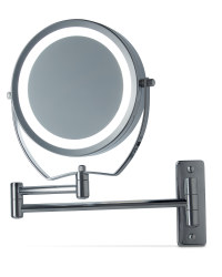 Illuminated Wall Mounted Mirror