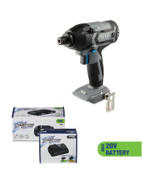 Impact Driver & 20V Battery/Charger