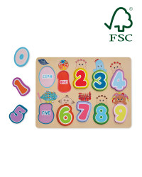 In the Night Garden Number Puzzle