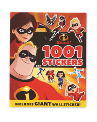 Incredibles 2 1001 Stickers Book