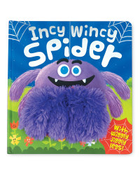 Incy Wincy Spider Hand Puppet Book