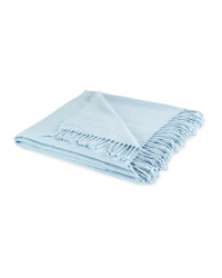 Indoor Outdoor Oasis Throw - Blue
