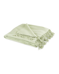 Indoor Outdoor Oasis Throw - Green