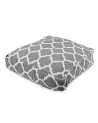 Indoor/Outdoor Floor Cushion - Grey