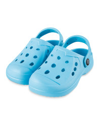 Infants Summer Clogs Turquoise