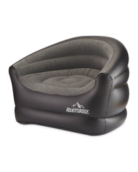 Inflatable Camping Chair - Grey