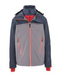 Inoc Men's Ski Pro 3-In-1 Jacket