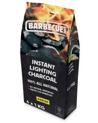 Instant Light Lumpwood Charcoal 4kg