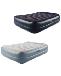 Intex Air Bed & Built In Pump