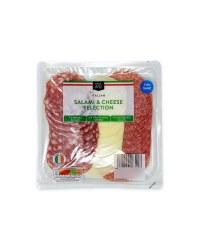 Italian Salami And Cheese Selection