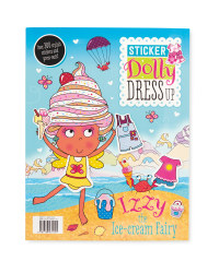 Izzy Dress Up Sticker Book