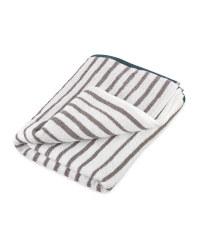 Jacquard Stripe Bath Towel
