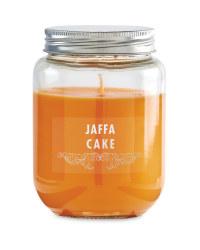 Jaffa Cake Candle