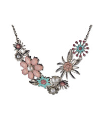 Jewelled Flower Necklace
