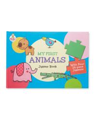 My First Animals Jigsaw Books