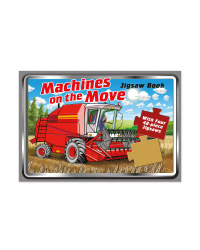 Machines on the Move Jigsaw Book