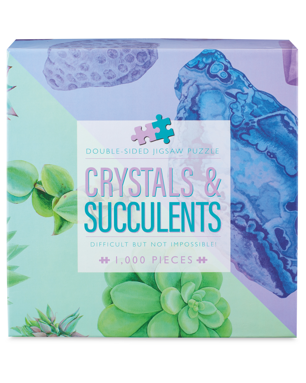 Crystals & Succulents Jigsaw