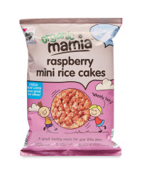 Mamia Junior's Raspberry Rice Cakes