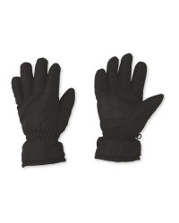 Crane Junior Black Gloves