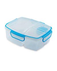 Junior Kids' Split Lunch Box - Blue
