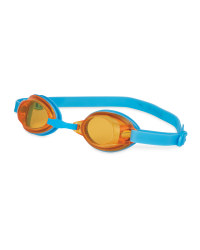 Swimming Goggles Junior - Blue/Orange