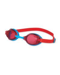 Swimming Goggles Junior - Red/Blue