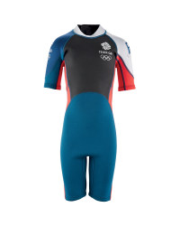 Junior Team GB Shorty Wetsuit - Red