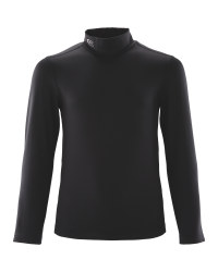 Crane Junior Thermal Base Layer Top - Black
