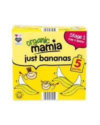 Just Bananas Fruit Pouch Multipack
