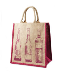 Jute Multi Bottle Wine Carrier