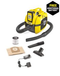 Kärcher Wet & Dry WD1 Battery Vacuum