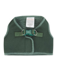 Khaki Green Dog Coat Harness