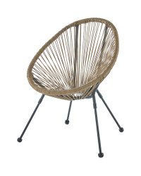 Kids' Bamboo Garden String Chair