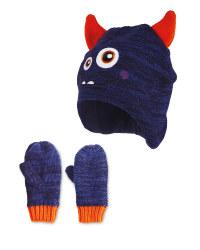 Kids' Monster Hat & Gloves