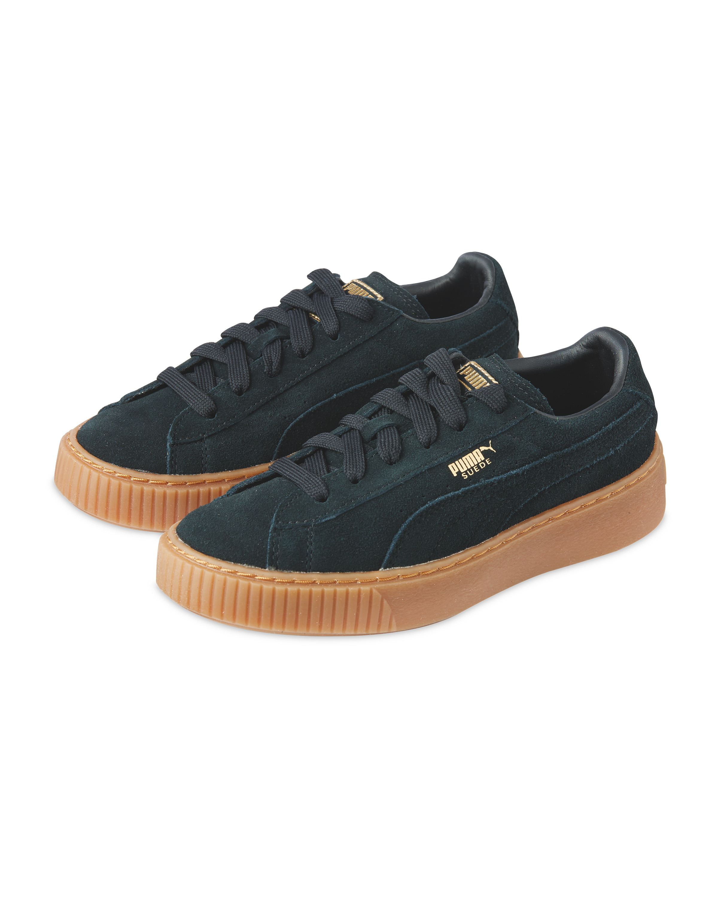prix le plus bas 5be39 e66a9 Kids' Puma Suede Platform Trainer