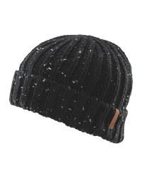 Kids' Medium Black Beanie Hat