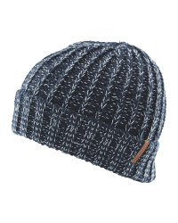 Kids' Medium Blue Beanie Hat