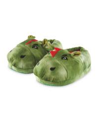 Kids' Novelty Dinosaur Slippers