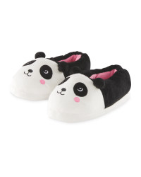 Kids' Novelty Panda Slippers