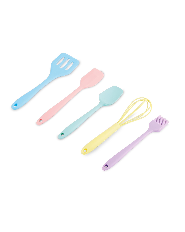 Kids' Pastel Mini Baking Tool Set