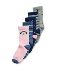 Kids' Rainbow Socks 5 Pack