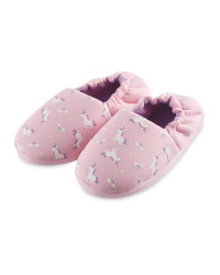 Lily & Dan Kids' Unicorn Slippers