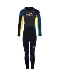 Kids's Full-Length Wetsuit - Blue