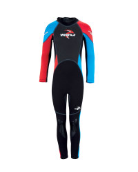 Kids's Full-Length Wetsuit - Red