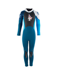 Kids's GB Full-Length Wetsuit - Blue