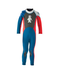 Kids's GB Full-Length Wetsuit - Red