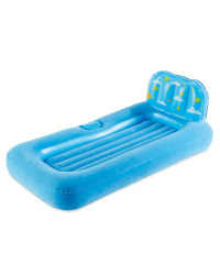 Kids' Air Bed With Night Light - Blue