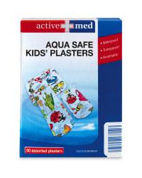 Kids' Aqua Safe Plasters